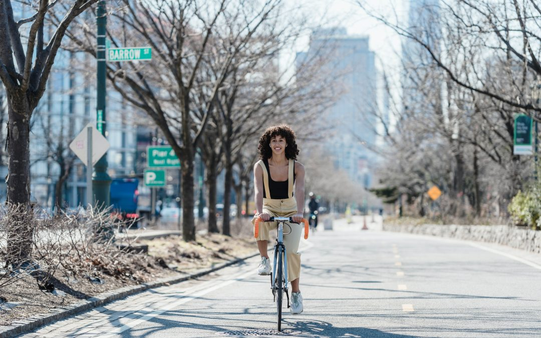 Få livsglæde på cyklen